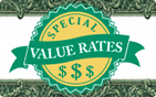 special value rates