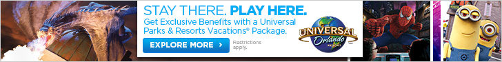 Get Exclusive Benefits with a Universal Parks & Resorts Vacations Package